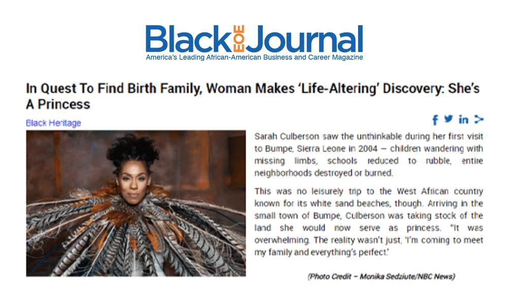 The Black EOE Journal